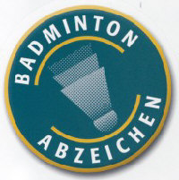 Badminton-Sportabzeichen-Logo