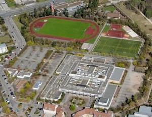 Bertolt-Brecht-Schule von oben (Foto: Stadt Nürnberg)