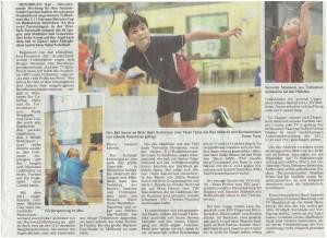 Mfr_Victor Cup U11_Zeitungsbericht