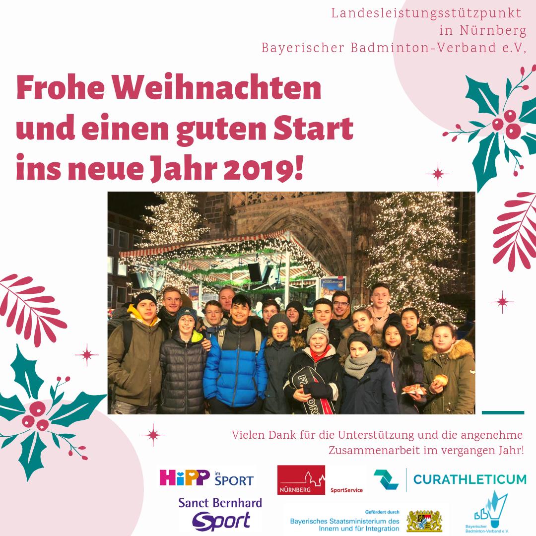Weihnachtsgrüße An Eltern.Weihnachtsgrüße Vom Landesleistungsstützpunkt In Nürnberg